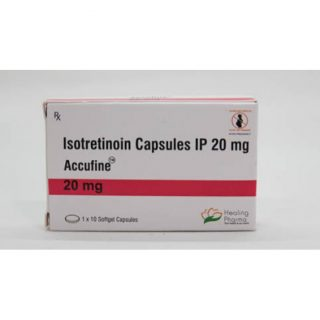 Isotretinoin (Accufine 20) 20 mg Capsules